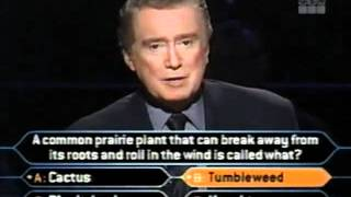 Who Wants to be a Millionaire 3/9/01 FULL SHOW
