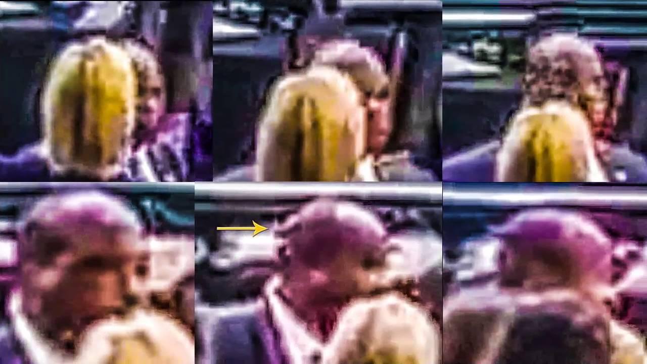 PART 2 - HILLARY CLINTON CLONE HANDLER Caught SHAPESHIFTING on 9-11 MEMORIAL