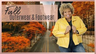 Must Have Fall Outerwear and Footwear | Plus Size