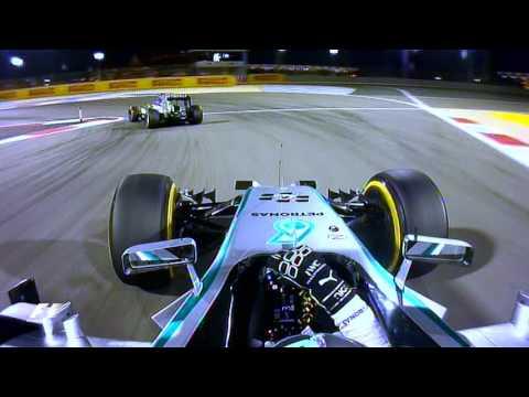 Rosberg v Hamilton, 2014 Bahrain Grand Prix | F1 Classic Onboard