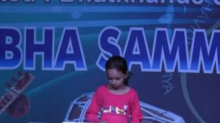 Keyboard Playing Performed  by Charvi Student of Jaipur Sangeet Mahavidyalaya