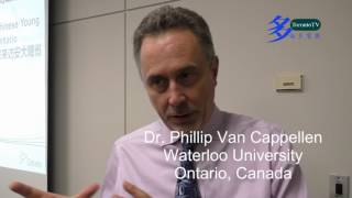 Dr. Phillip Van Cappellen,  Canada-China Young Scientists Exhange Program,20160729