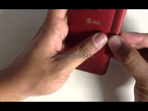 How to Hard Reset (Factory Restore) Password Wipe the Htc Inspire 4G tutorial
