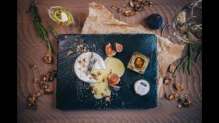 Рецепт запеченного сыра Бри с орехами медом и трюфелем от tartufi ru