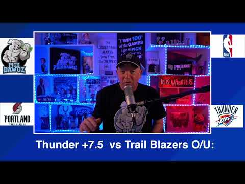 Oklahoma City Thunder vs Portland Trail Blazers 2/16/21 Free NBA Pick and Prediction NBA Betting Tip