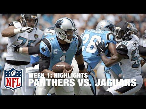 Panthers vs. Jaguars | Week 1 Highlights | NFL