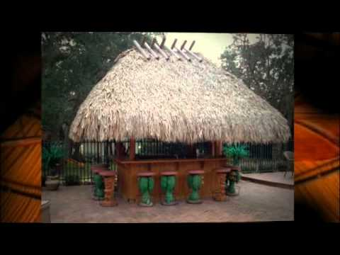 Outdoor Kitchen Bar Anti Fatigue Mats Best Miramar Fl Tiki Hut Builder (954) 282-9242 ...