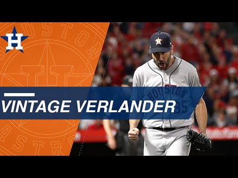 Verlander shuts out Angels, notches 2,500th career K