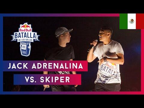 SKIPER Vs JACK ADRENALINA - Semifinal | Final Nacional México 2019