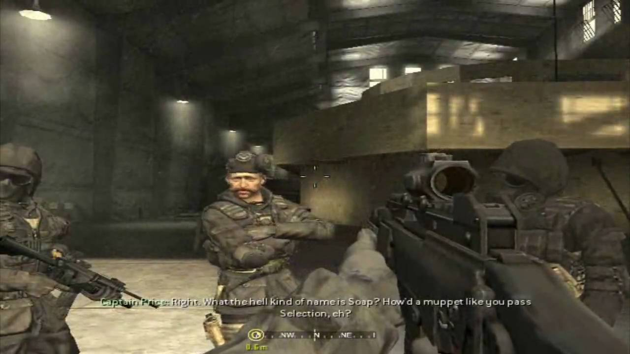 Call Of Duty 4 Pc Mission 1 Fng Hd720 Youtube