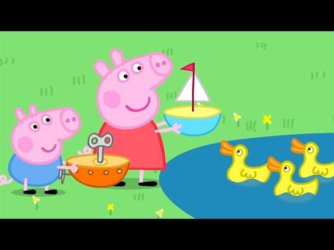 Peppa Pig Italiano -  Lo stagno delle barchette - Collezione Italiano - Cartoni Animati