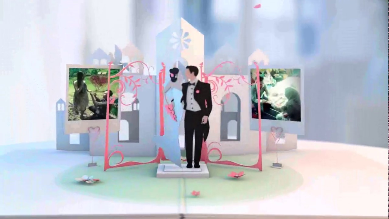 Stop Motion Wedding Invitation, Stop Motion Animation Video - YouTube