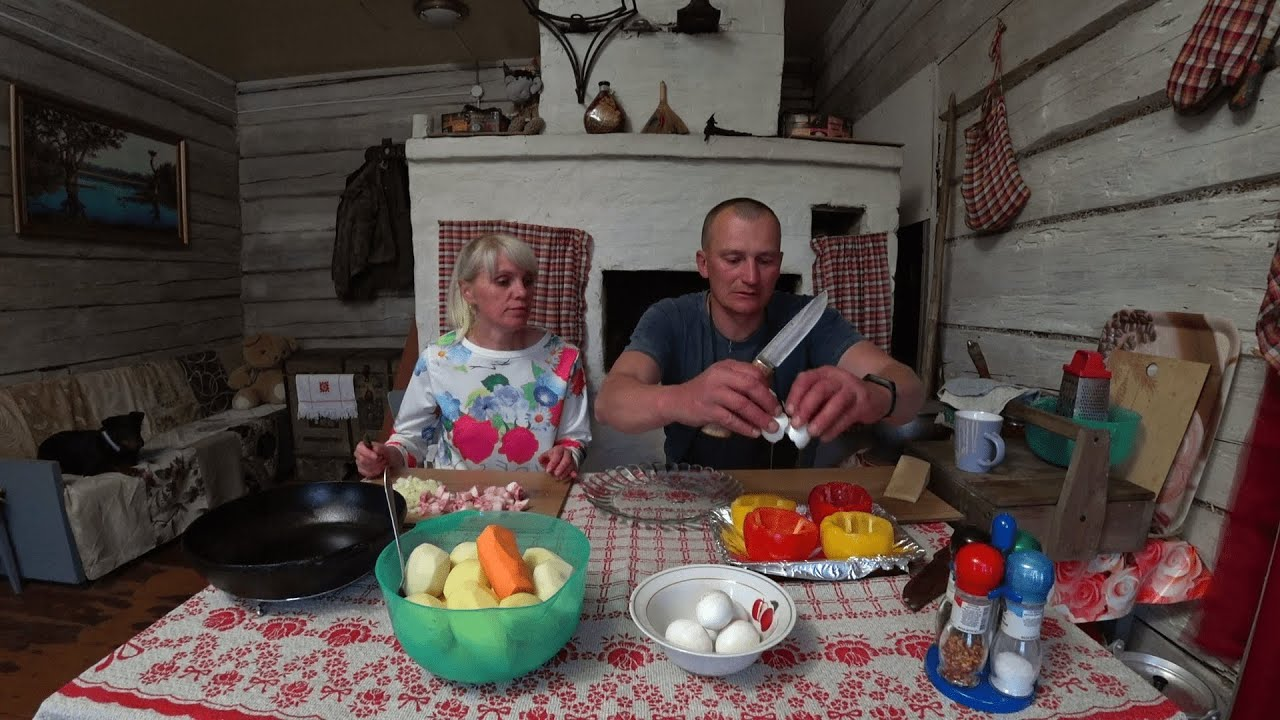 КУПИЛИ ХУТОР в ЛЕСУ на КРАЮ БОЛОТА. Часть 129. Что такое Белорусская Бабка?! У АЙКА свадьба.
