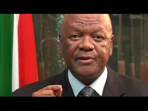 Minister Jeff Radebe launches new NDP Vision 2030 Brand Identity