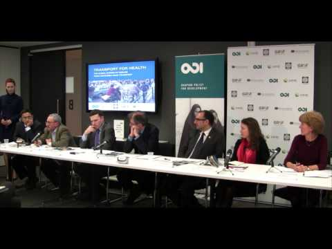 Q&A - A turn for the worst: how transport is causing a global health crisis
