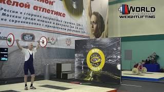 ИСАКОВ/ISAKOV (62,М-80) 30-35-37х/40-45-**. Russian Championships Masters 02-06.03.2016.