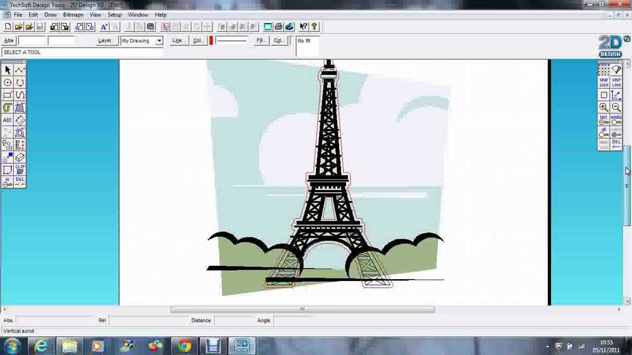 2d design tools using layers youtube for 2d design online