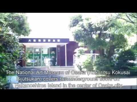 Japan Trip: National Art Museum of Osaka contemporary art with restaurant, Osaka