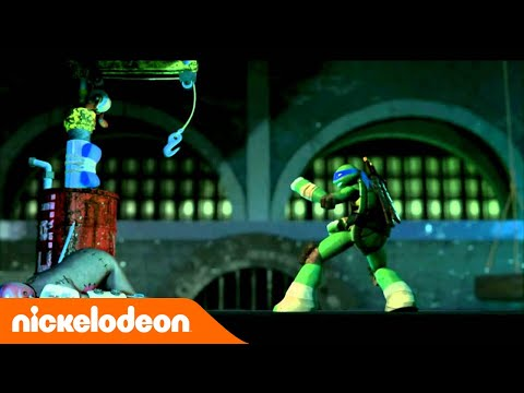 Teenage Mutant Ninja Turtles : les Tortues Ninja   Générique   Nickelodeon France from YouTube · Duration:  58 seconds