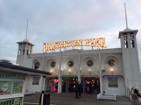 Brighton Pier Vlog 8th January 2017