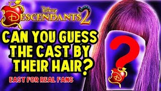 DESCENDANTS 2 | Can You Guess The Descendants By Their Lips?