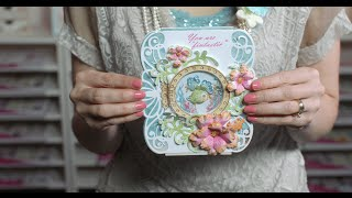 3 EZ Steps to Create a Stamped Shaker Card with the Under the Sea by Heartfelt Creations