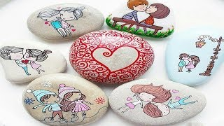 DIY Ideas of Painted Rocks - Crafts with Stones and Rocks Ideas