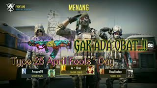 Review senjata Type 25 April Fools ' Day | OP PARAHHH EDANNN | Call Of Duty : Mobile