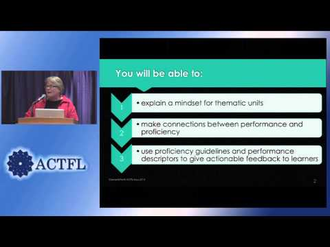 Keys To Planning For Student Learning: Linking Curriculum To Performance