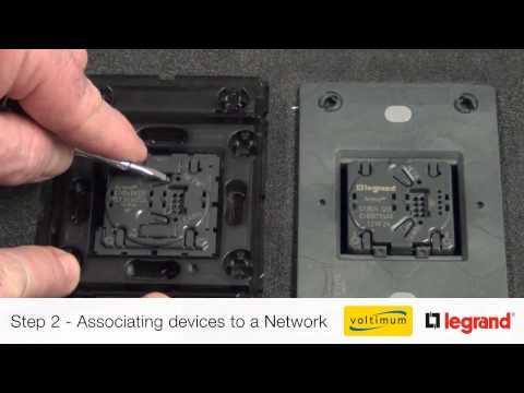 Push & Learn Programming for Legrand Zigbee Wireless Control Solutions