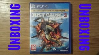 Just Cause 3 Unboxing