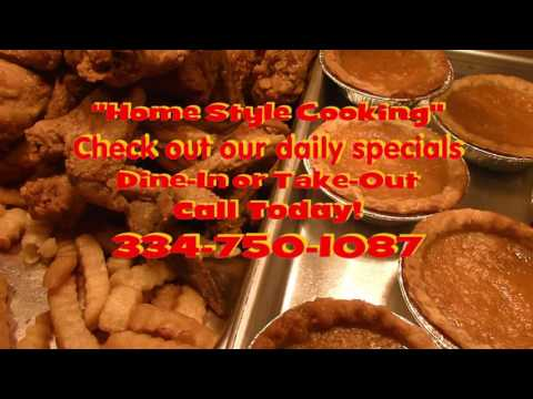 "G&S Restaurant...Tuskegee, Alabama ""Home Style Cooking"" 10 21 2016"