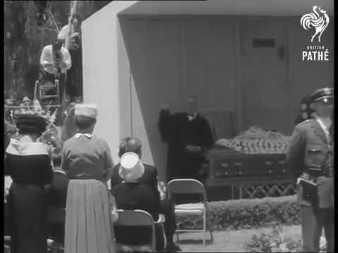 Marilyn Monroe 39 S Funeral 1962 Youtube
