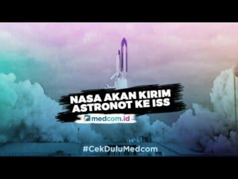 Besok, NASA Kirim Dua Astronot ke Stasiun Ruang An