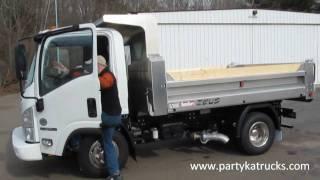 Isuzu NPR HD dump truck