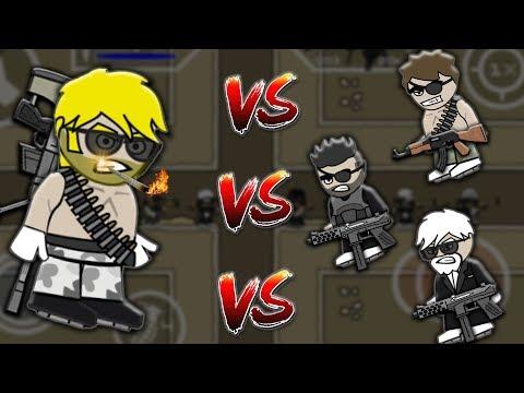 Mini Militia 1vs1 Challenge Against Random Pros !! EPIC GAMEPLAY ! | Doodle Army 2: Mini Militia #78