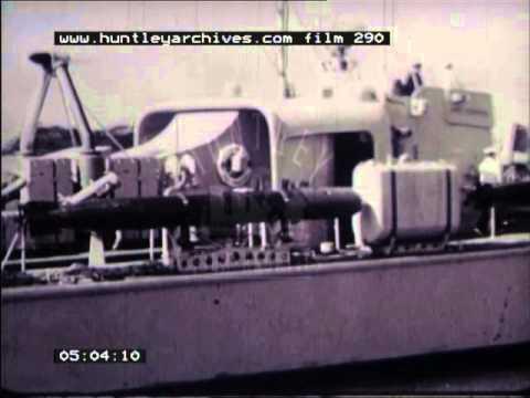 Navy boats, 1950's - Film 290