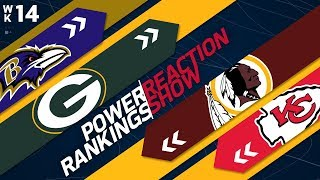 Power Rankings Week 14 Reaction Show: Who Will Be the New Number 1? | NFL Network