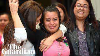 El Salvador woman cleared of homicide over stillborn baby's death