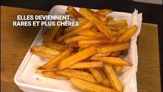 Vous aimez les frites? Pourquoi on pourrait en trouver moins