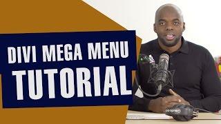 Divi tutorial - Divi mega menu