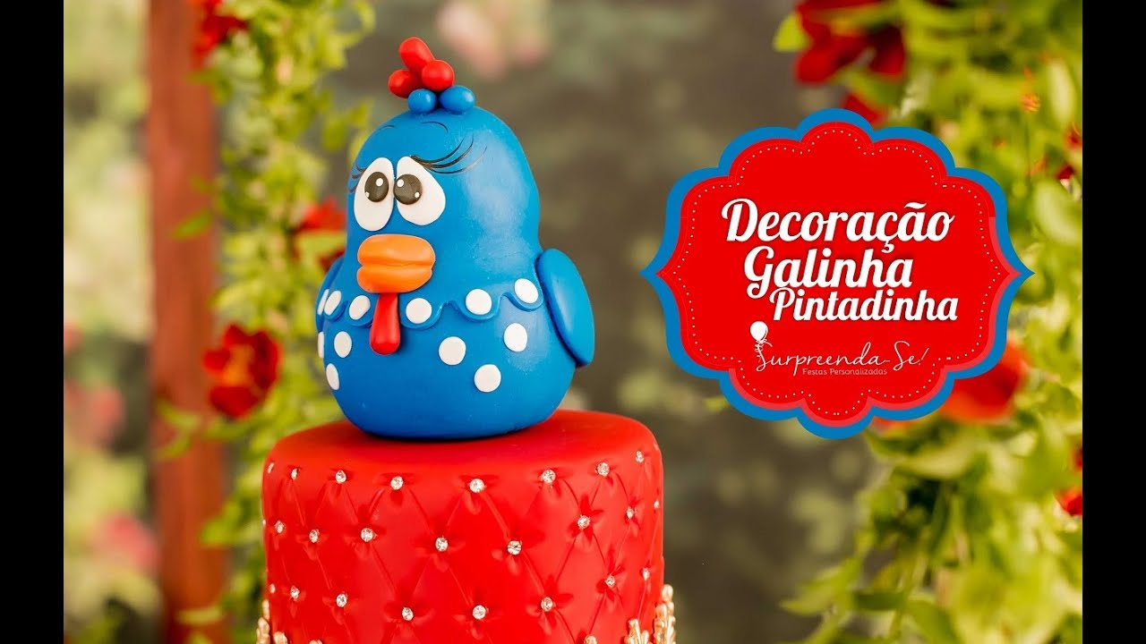 Decoracao Yotube ~ Festa Infantil Decoraç u00e3o Galinha Pintadinha YouTube