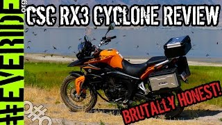 Zongshen Csc Rx3 Cyclone Review - Brutally Honest  #everide