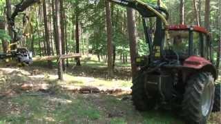 CRYSTAL TRAKTOR ORION 130 Leśny & Harvester part.2