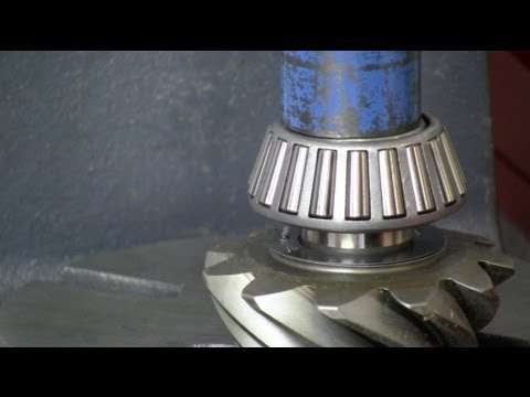 1963 Chevrolet Biscayne Positraction Differential Overhaul - Part 3.2 - Pinion Gear
