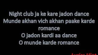 Kudi Gujarat Di Song  Sweetiee Weds NRI  Jasbir Jassi  Himansh Kohli  Zoya Afroz  Lyrics