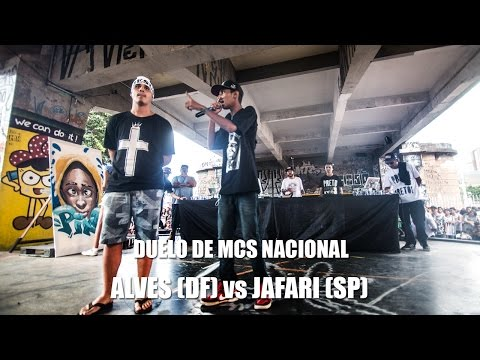 Alves (DF) vs Jafari (SP) - Duelo de MCs Nacional 2015 - 22/11/15