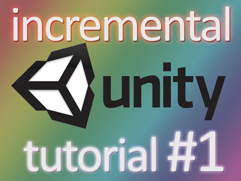 Clicker Game Tutorial Unity C#, Part 1