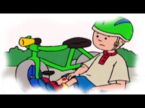 Funny Animated Cartoon    Caillou Hurts Himself   WATCH CARTOON ONLINE   Cartoon For Children
