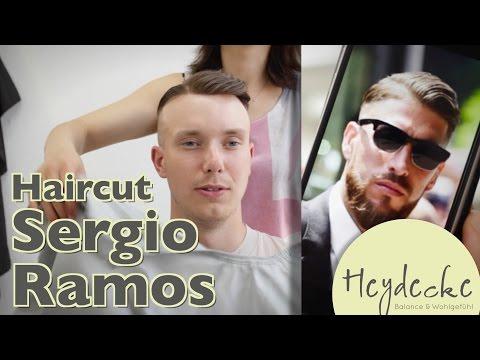 Sergio Ramos Frisur Mit Haarteil Unser Haircut Zur Em Youtube